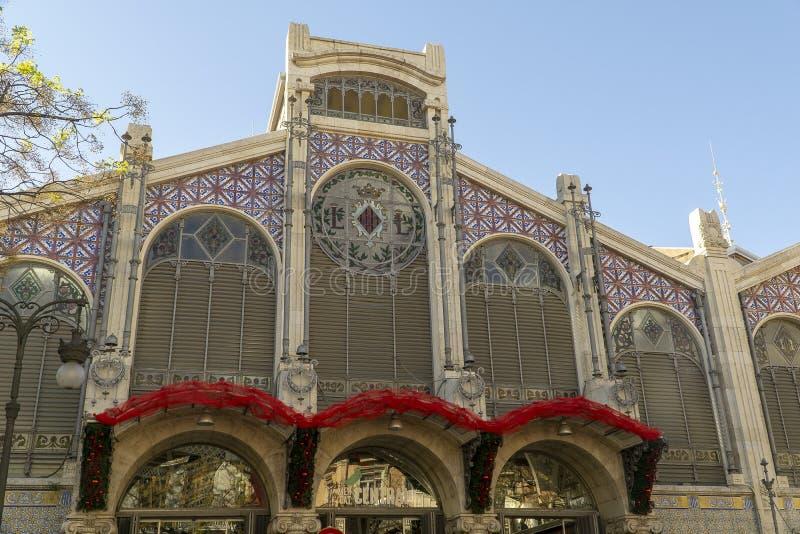 Spain, Valencia, the central market stock photos