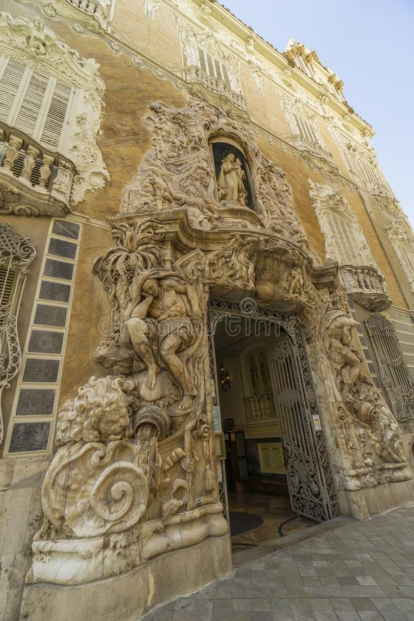 Spain, Valencia, december 2 2018  National Ceramics royalty free stock images