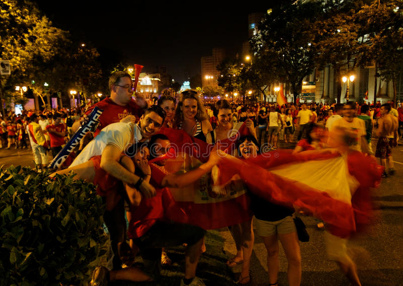 Download Spain World Soccer Champion Editorial Stock Image - Image: 15111674