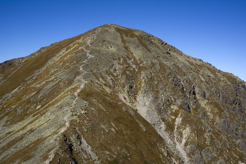 Download Spalena Peak In Western Tatras Stock Image - Image: 21527991