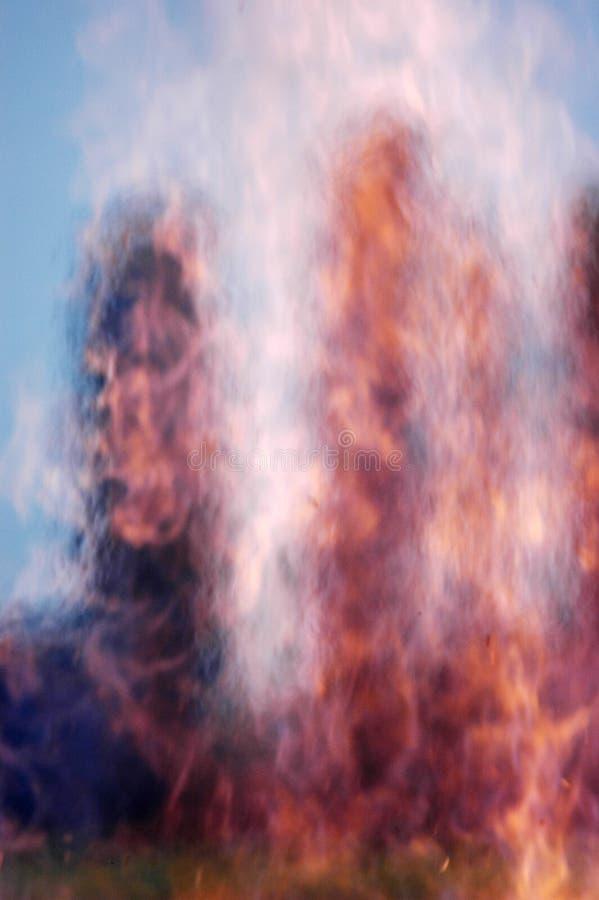 spalić pole zdjęcie royalty free