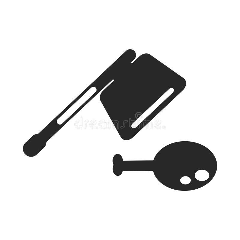 Spalterikonenvektorzeichen und -symbol lokalisiert auf weißem Hintergrund, Spalterlogokonzept lizenzfreie abbildung