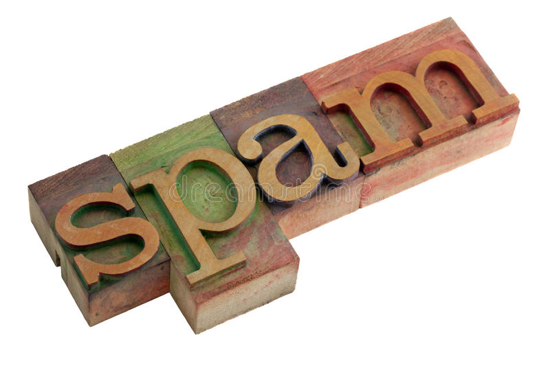 Spam royalty free stock photography