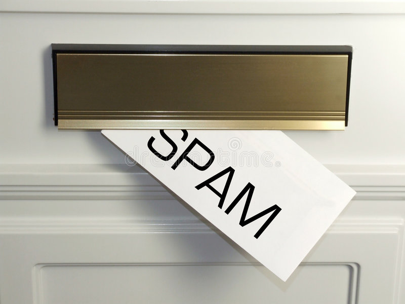 Spam photo stock