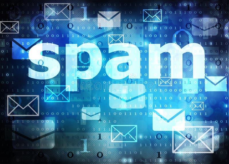 spam vektor abbildung