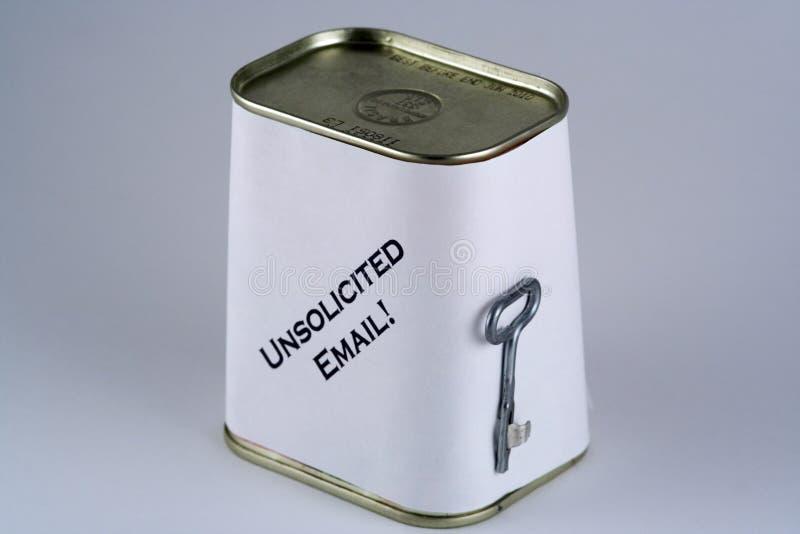 Spam E-mail royalty-vrije stock foto's