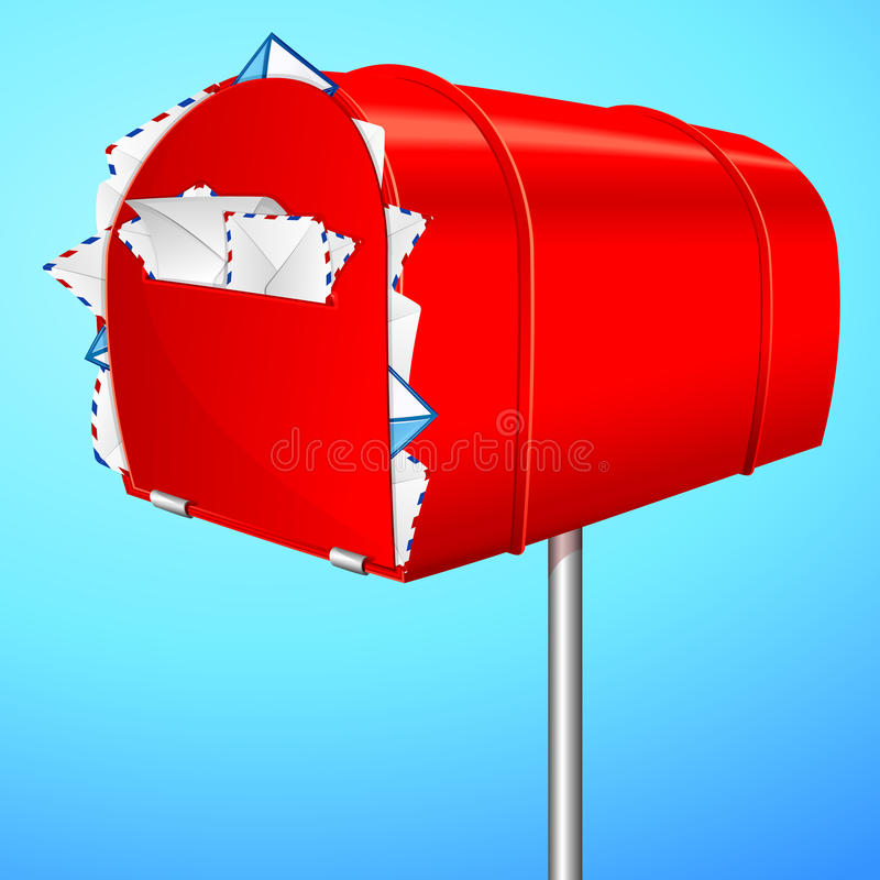 Download Spam Mail stock vector. Image of contact, background - 24842143