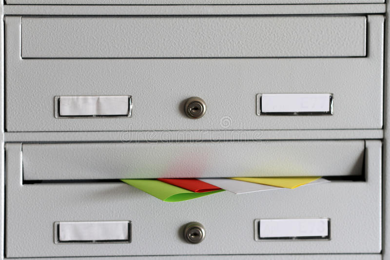 Download Spam in mailbox stock photo. Image of mailbox, mail, flyers - 30974284