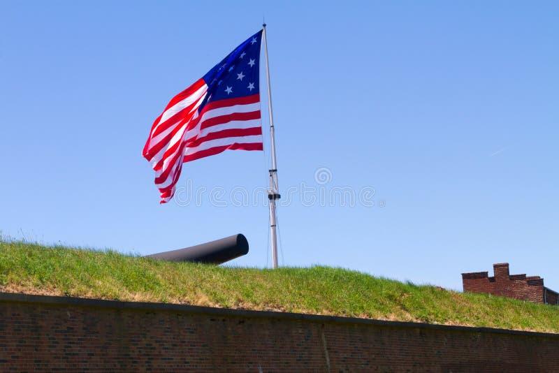 Spangled Banner van de ster royalty-vrije stock fotografie