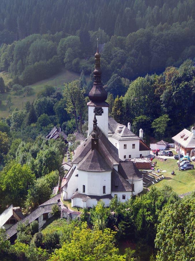 Spania Dolina e igreja da transfiguração imagens de stock royalty free