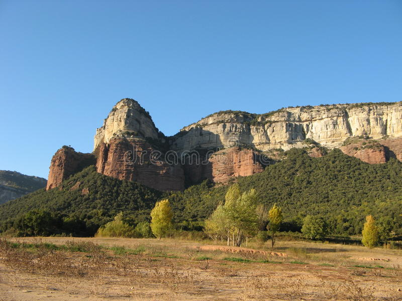 Spanien berg royaltyfri bild