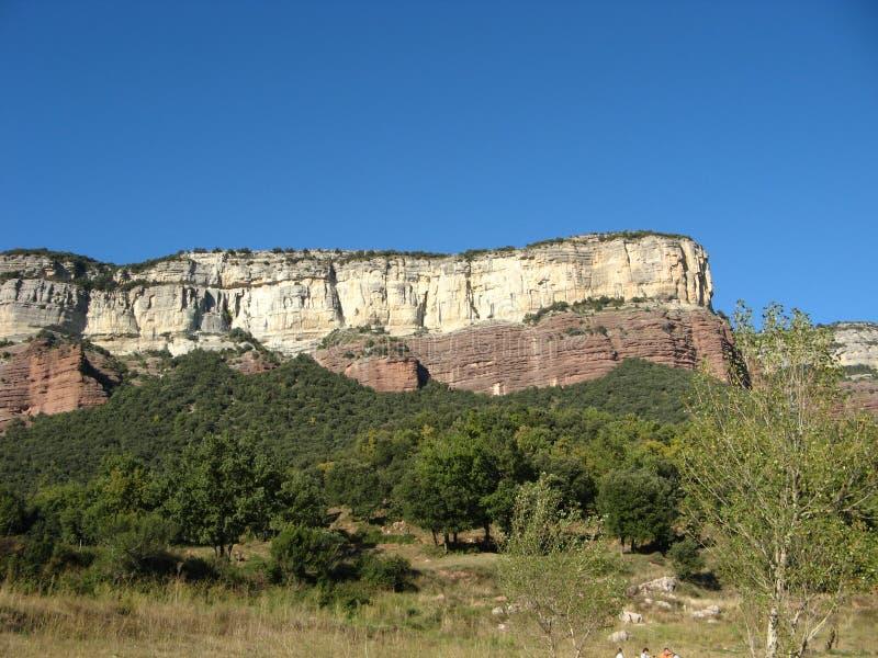 Spanien berg arkivbild