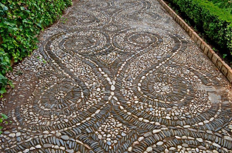 Spanien Granada Alhambra Generalife (21) royaltyfri fotografi