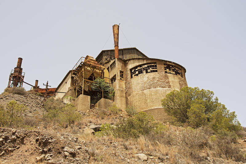 Spanien industriella arv royaltyfri fotografi