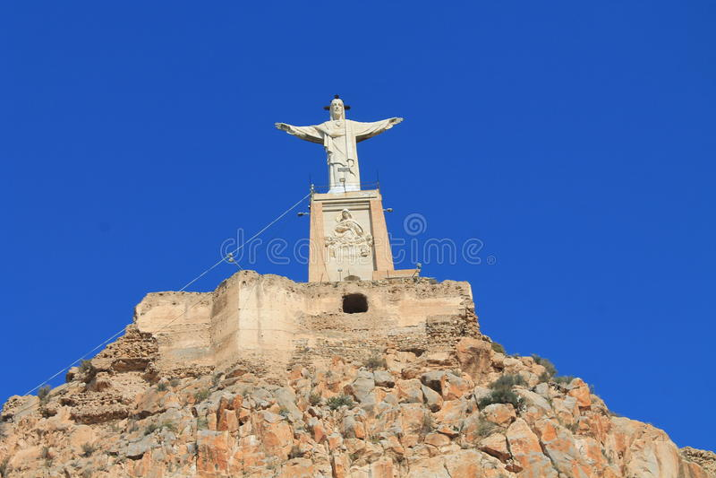 Spanien Jesus staty arkivfoton