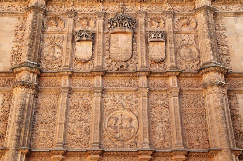 Spanien, Kastilien y Leon, Salamanca Historische Mitte lizenzfreie stockfotografie