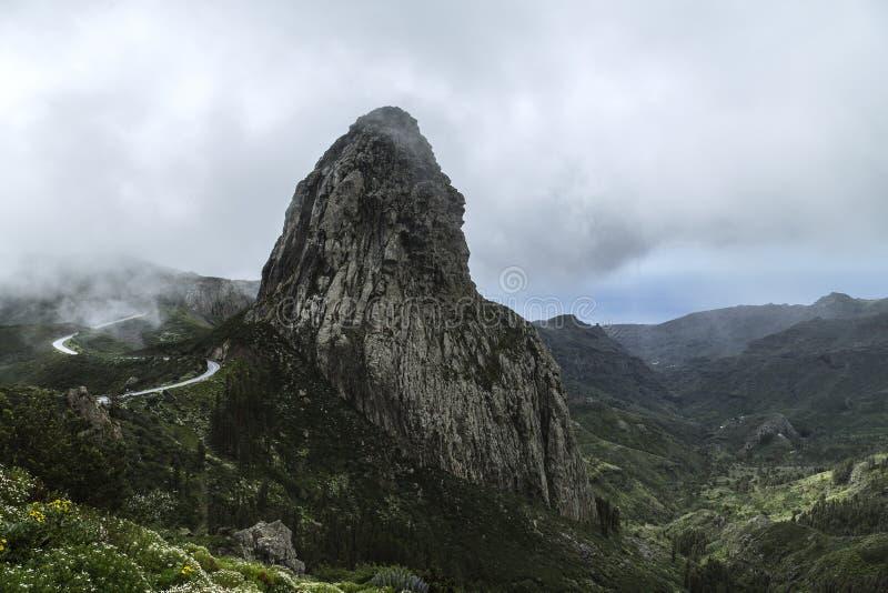 Spanien, La Gomera, ein gehendes Paradies und UNESCO-Biosphären-Reserve lizenzfreies stockbild