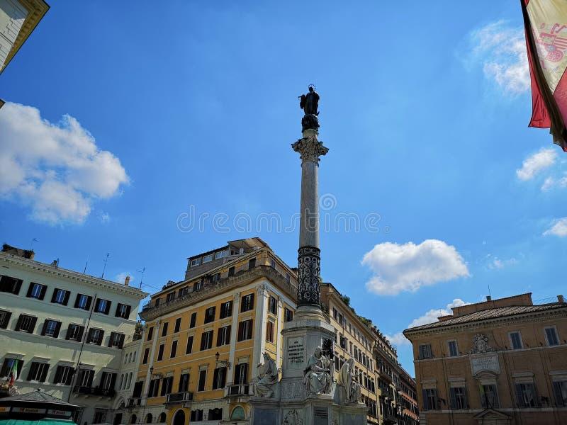 Spanien-Quadrat in Rom, Italie lizenzfreies stockfoto
