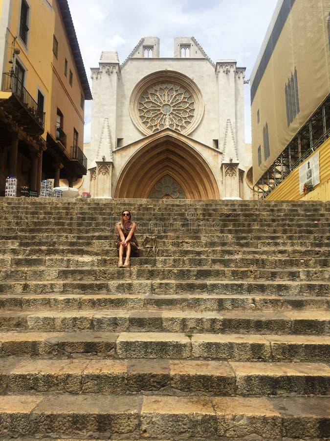 Spanien Tarragona royaltyfri foto