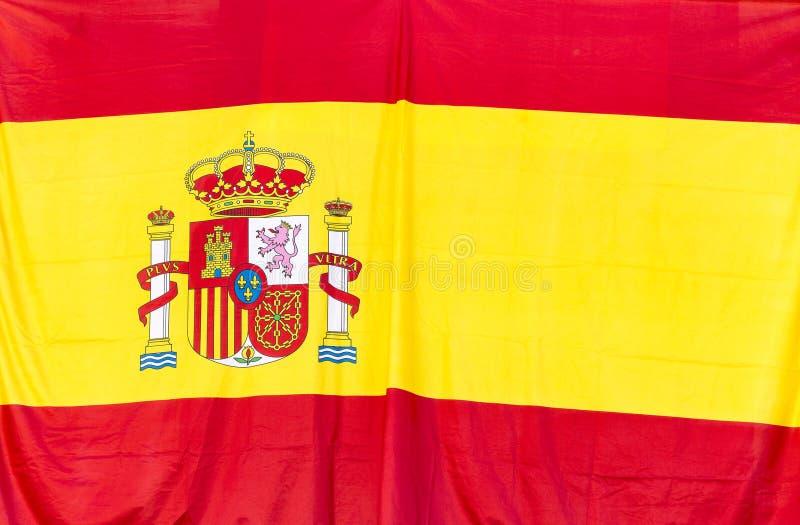 Spanische Flagge lizenzfreie stockfotografie