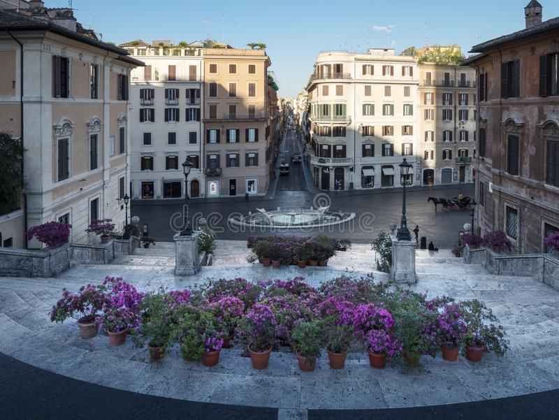 Spanische Jobstepps, Rom, Italien lizenzfreie stockfotografie