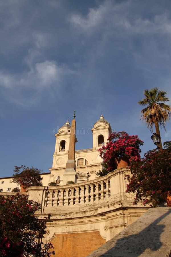Spanische Jobstepps in Rom, Italien stockfotos