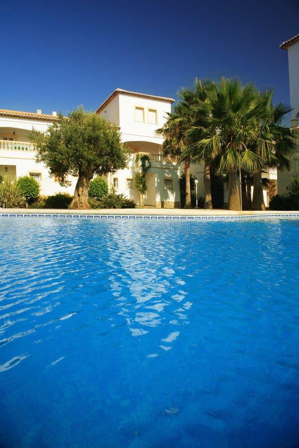 Spanische Landhäuser stockfoto