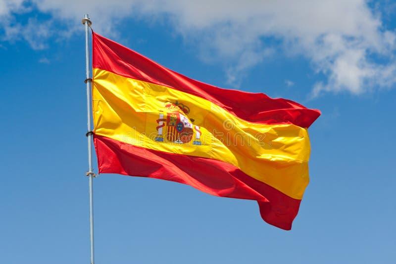 Download Spanische Markierungsfahne stockfoto. Bild von fliege - 10231858