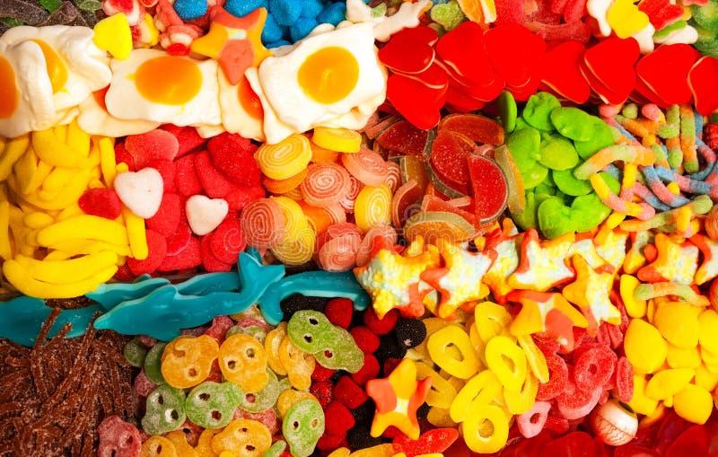 Spanische Süßigkeit mögen Nahrung stockfotos