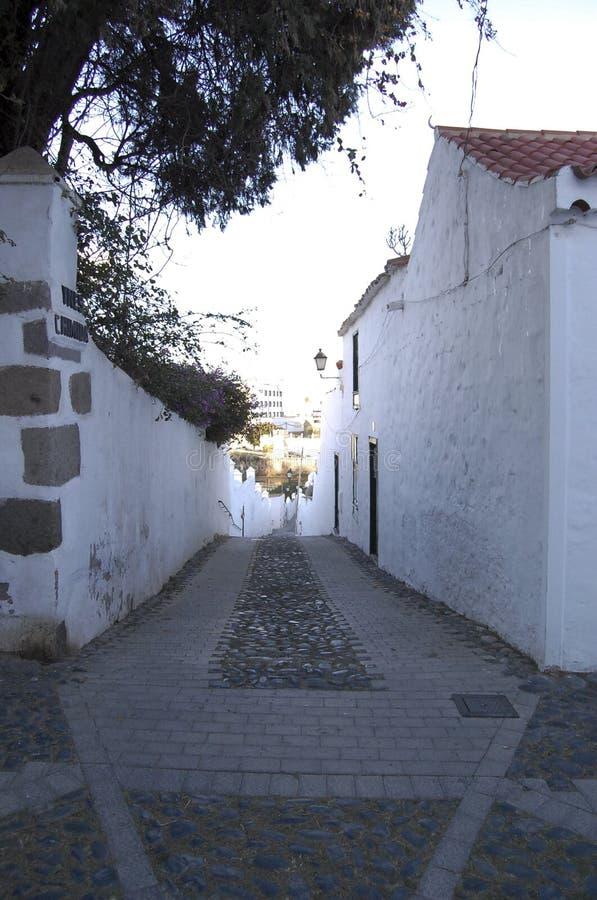 Spanische Straße lizenzfreie stockbilder