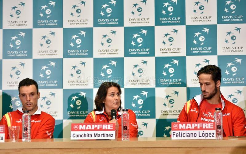 Spanische Tennisspieler