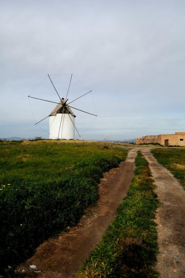 Spanische Windmühle stockfoto