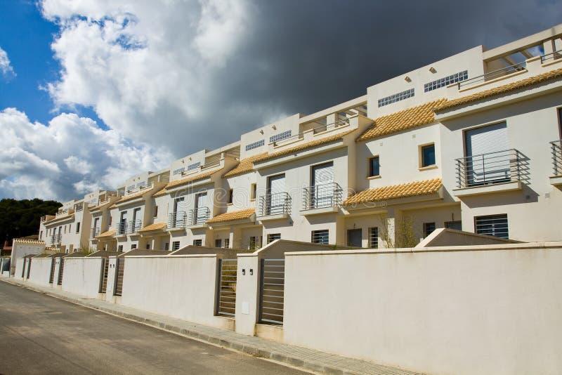 Spanische Wohnungen stockfoto