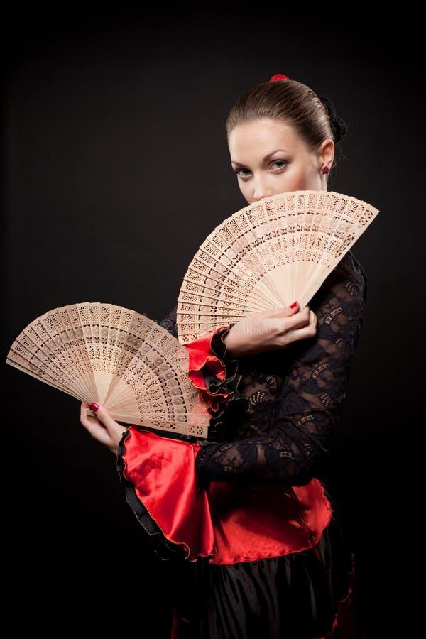 Spanischer Tänzer stockfotografie