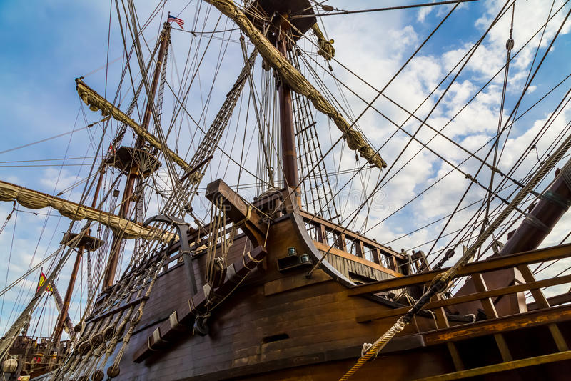Spanisches galleon stockfotografie