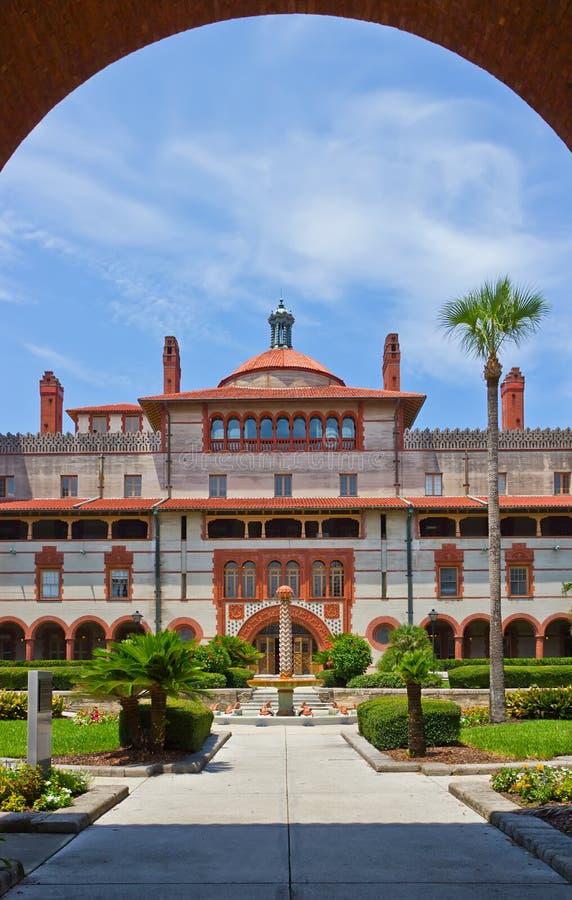 Spanisches historisches aufbauendes St Augustine Florida lizenzfreies stockbild