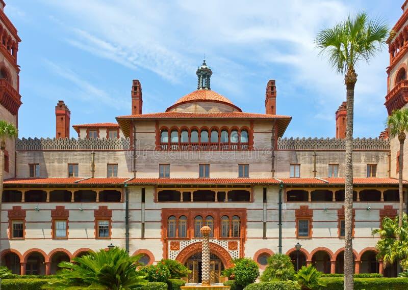 Spanisches historisches aufbauendes St Augustine Florida lizenzfreie stockbilder