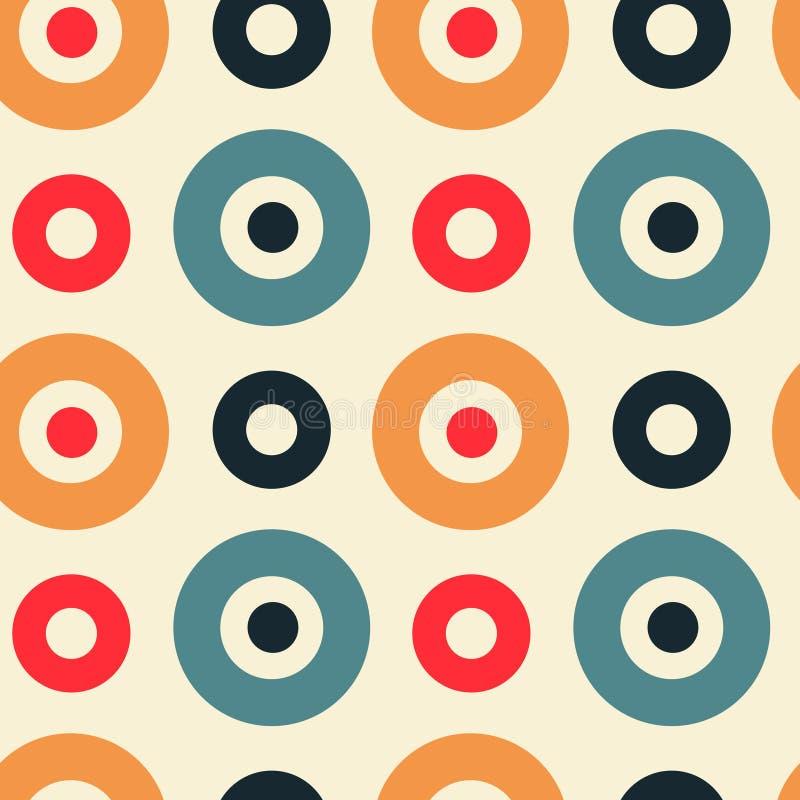 Download Spanisches Nahtloses Muster Der Klaren Kreise Vektor Abbildung - Illustration von wiederholung, modern: 106803979