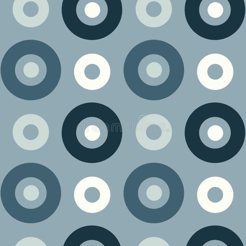Download Spanisches Nahtloses Muster Der Klaren Kreise Vektor Abbildung - Illustration von spaß, rund: 106804070