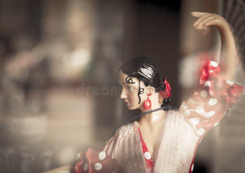 Spanisches Tänzerstandardmannequin lizenzfreie stockfotografie