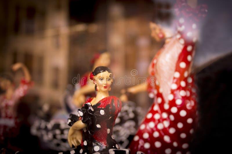 Spanisches Tänzerstandardmannequin stockbilder