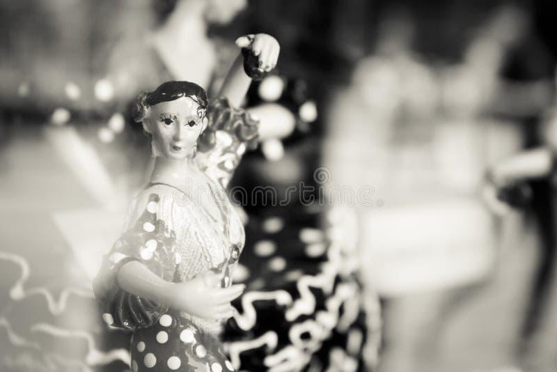 Spanisches Tänzerstandardmannequin lizenzfreie stockbilder
