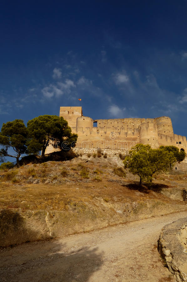 Spanish castle stock photos
