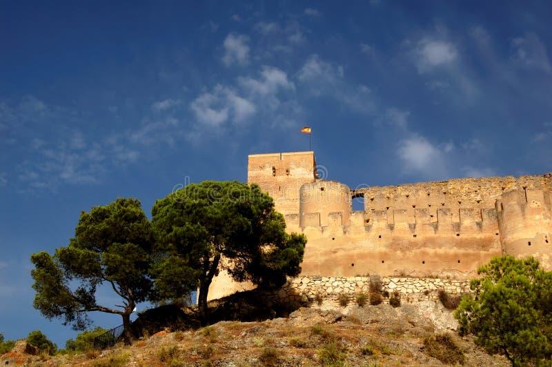 Spanish castle stock image
