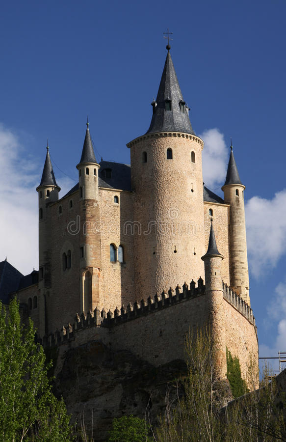 Spanish castle royalty free stock photography