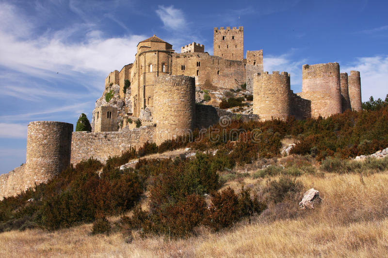 Download Spanish castle stock photo. Image of defensive, high - 21474600