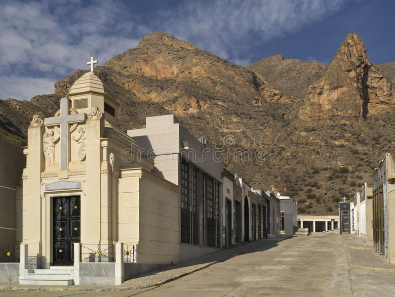 Download Spanish Cemetery - Costa Blanca - Spain Stock Image - Image: 22144479
