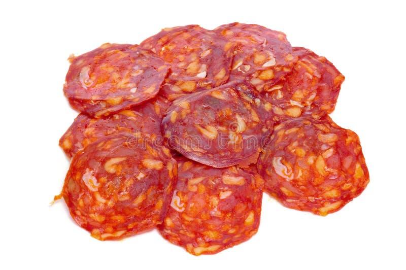 Download Spanish chorizo stock photo. Image of appetizer, embutido - 27542378