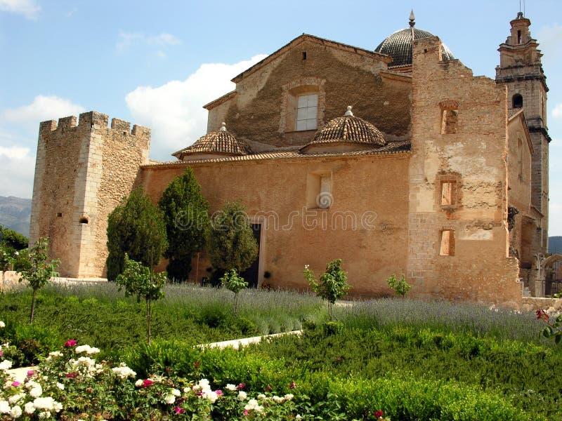 Download Spanish Cisterican Monastery Stock Image - Image: 13845993