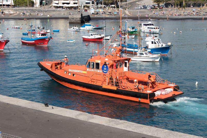 Spanish coast guard speedboat royalty free stock images